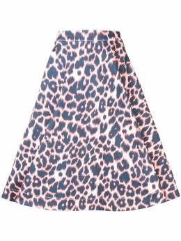 Calvin Klein 205W39nyc пышная юбка с леопардовым принтом 92WDSA05C504P