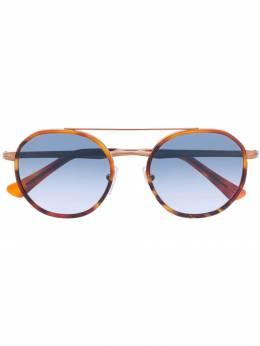 Persol солнцезащитные очки в круглой оправе 0PO2456S