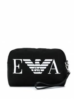 Emporio Armani косметичка с логотипом Y3Q002YFD6E