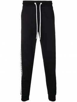 Bikkembergs спортивные брюки с логотипом на лампасах C108680E1551