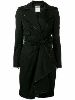 Moschino платье с запахом J04650422