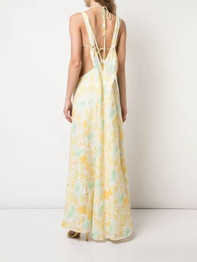 Cult Gaia платье Sabine 50054L03LDM - 4