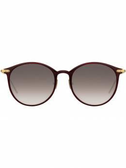 Linda Farrow солнцезащитные очки в оправе оверсайз LF02C11SUN