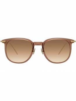 Linda Farrow солнцезащитные очки в квадратной оправе LF04C11SUN