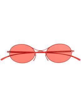 Mykita солнцезащитные очки Messe MMESSE001E18BAYWATCHRED