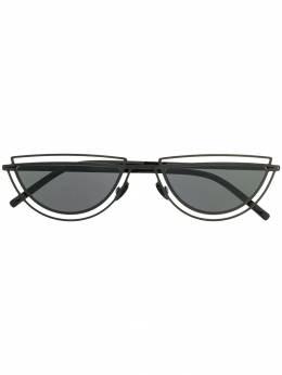 Mykita солнцезащитные очки Monogram MONOGRAMSHINYBLACK
