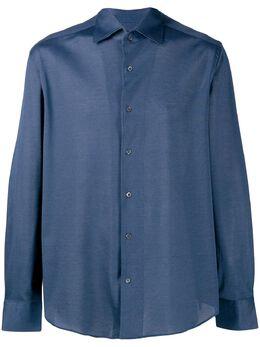 Corneliani однотонная рубашка на пуговицах 9111213