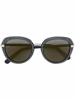 Jimmy Choo Eyewear солнцезащитные очки 'Mori' с заклепками JIMSMORI2M2