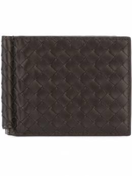 Bottega Veneta плетеный кожаный кошелек 123180V4651