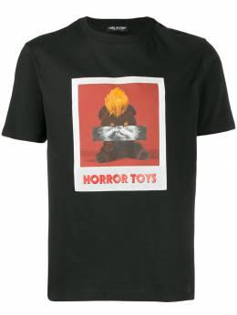 Neil Barrett футболка с принтом PBJT575AM519S