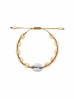 Tohum Puka Shell Bracelet BRACELETSMALL03GSP