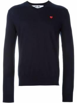 Comme Des Garcons Play свитер с вышивкой AZN052