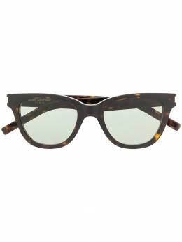 Saint Laurent Eyewear солнцезащитные очки в квадратной оправе SL51SMALL