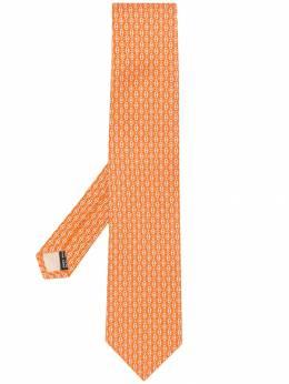 Salvatore Ferragamo галстук с геометричным принтом 694515