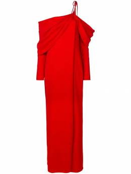 Monse вечернее платье с драпировкой MS18N0307CDY
