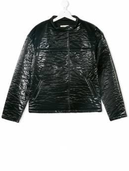Andorine текстурированная лакированная куртка ADW18B01