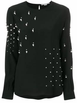 Stella McCartney декорированная блузка 501565SY206