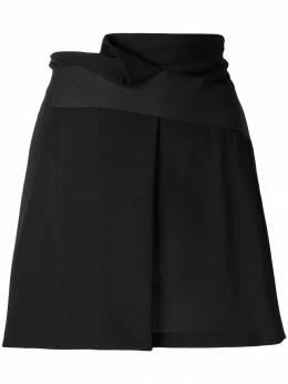 Giorgio Armani Pre-Owned юбка мини с поясом GIA120B