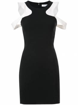Mugler платье с вырезами на плечах ROBER898B431B