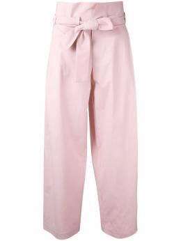 Erika Cavallini брюки с завышенной талией и поясом P7EU05