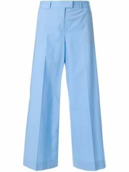 Moschino Pre-Owned укороченные брюки с широкими штанинами MSC120C