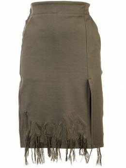 Haculla Dying to live fringed skirt HAW08AHB02