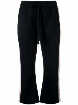 Haculla Modern love cropped track trousers HAW08AHB04