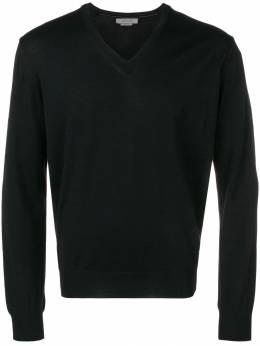 Corneliani свитер с V-образным вырезом 00M5010025100