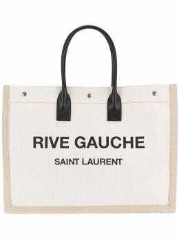 Saint Laurent сумка-тоут Rive Gauche с логотипом 4992909J52E