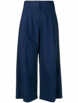 Etro укороченные брюки палаццо 147581545