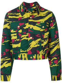 Jean Paul Gaultier Pre-Owned укороченная куртка с камуфляжным узором JPG1991