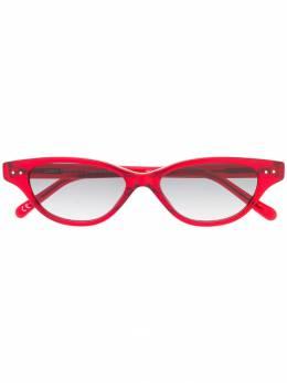 Linda Farrow солнцезащитные очки в оправе 'кошачий глаз' LFL965