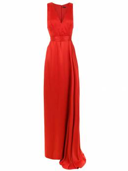 Tufi Duek v-neck long dress 3444800435