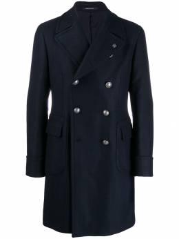 Tagliatore пальто с узором в елочку CARLOZ34SIC267