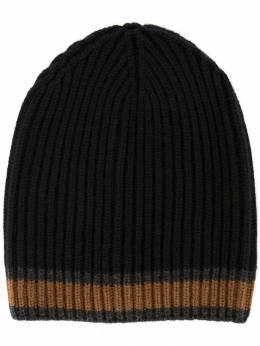 Dolce&Gabbana трикотажная шапка с контрастной полоской GX701TJAWOW