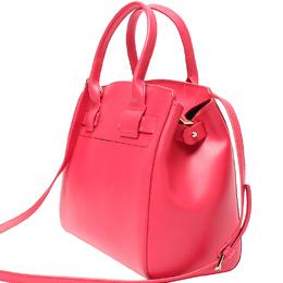 Furla Pink Leather Tote Bag