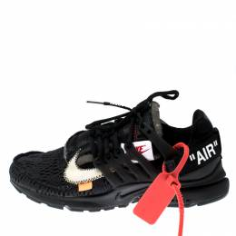 Off-White X Nike Back Technical Fabric The 10: Presto Sneakers Size 38.5
