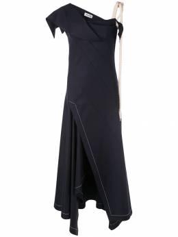 Monse вечернее платье с веревочным декором MS19M0306SWG