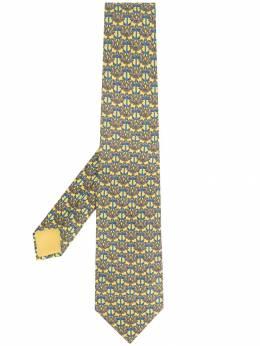 Hermes галстук 2000-х годов с принтом pre-owned HER180AT