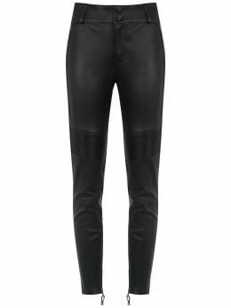 Tufi Duek panelled leather pants 24801235