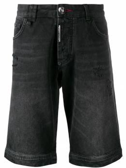Philipp Plein джинсовые шорты F19CMDT1671PDE004N