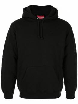 Supreme quilted hooded sweatshirt FW18 SU6398