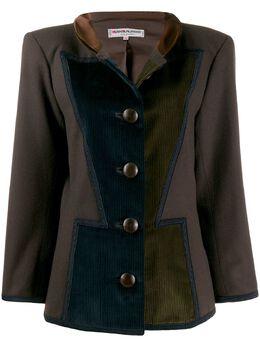 Yves Saint Laurent Pre-Owned куртка Art Deco 1980-х годов в стиле милитари YSL900