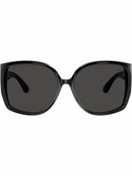 Burberry Eyewear солнцезащитные очки в массивной оправе BE4290300187