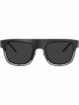 Dolce&Gabbana Eyewear солнцезащитные очки в квадратной оправе DG2232110687