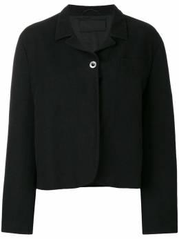Prada Pre-Owned куртка прямого кроя PRA450A