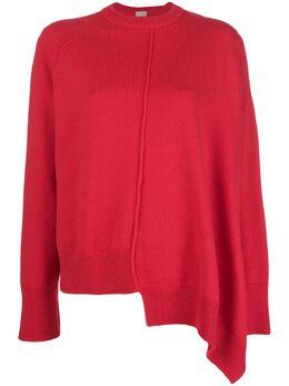 Mrz свитер асимметричного кроя с круглым вырезом FW180122