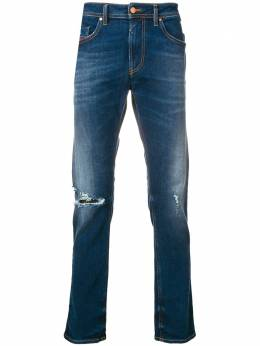 Diesel distressed fitted jeans 00SW1Q084ZB