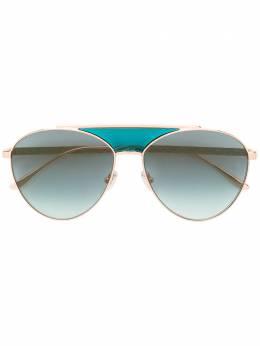 Jimmy Choo Eyewear aviator sunglasses AVES
