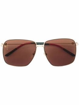 Gucci Eyewear большие солнцезащитные очки GG0394S